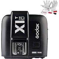 【技適マーク付き】Godox X1T-C送信機 TTL Wireless Remote Flash Trigger for Canon ワイヤレスリモコントリガー キャノン対応 Pergearクリーンキット贈り物として (フラッシュトリガー)