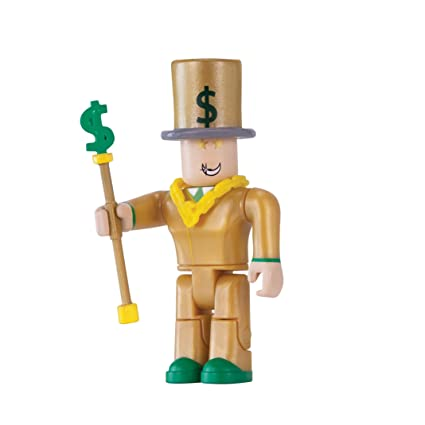 Amazoncom Roblox Mr Bling Bling Figure Pack Toys Games
