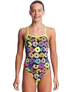 8a2cfedbd4eb52 Funkita Hot Lips - Schwimmanzug Mädchen: Amazon.de: Sport & Freizeit