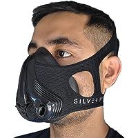Nuova 2019 Maschera da Allenamento Simulazione Alta Quota Training Mask Migliora Resistenza| 24 Livelli di Resistenza|per Corsa, Calc io, MMA, Fitness+ Custodia Inclusa