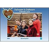 Dahoam is Dahoam 2020 - Broschürenkalender - Wandkalender - mit Jahresplaner - Format 42 x 29 cm
