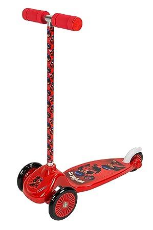 Ladybug- Micro Scooter con 3 Ruedas, Color Rojo y Negro ...