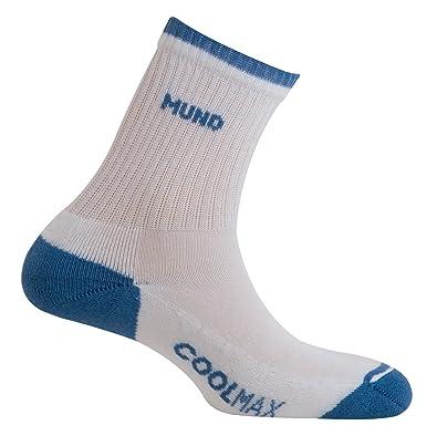 MUND Padel 507 - Calcetines para Hombre, Color Blanco/azulón ...