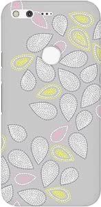 Stylizedd Google Pixel XL Slim Snap Basic Case Cover Matte Finish - Teardrop Stitches