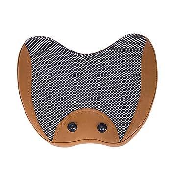JU FU Masaje Almohada Cuello Cintura masajeador hogar ...