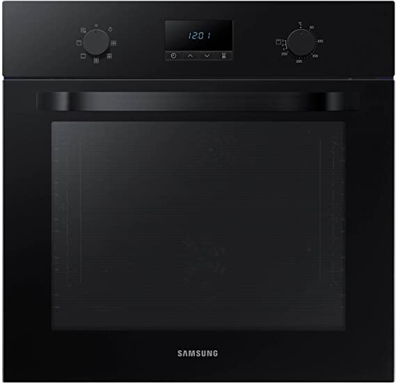 Samsung NV70K1340BB/EU - Horno eléctrico de doble ventilador, color negro