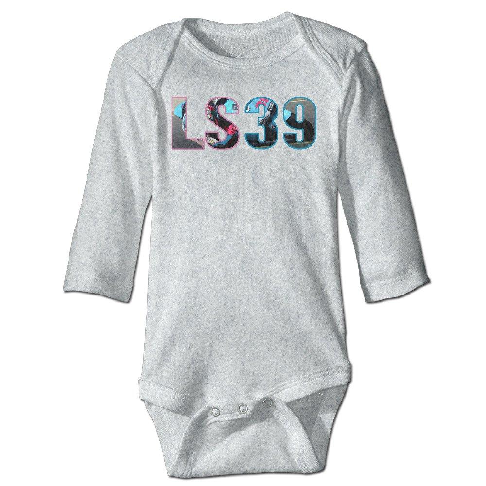 Deamoon LS39 L Long Sleeve Baby Climbing Clothes Ash