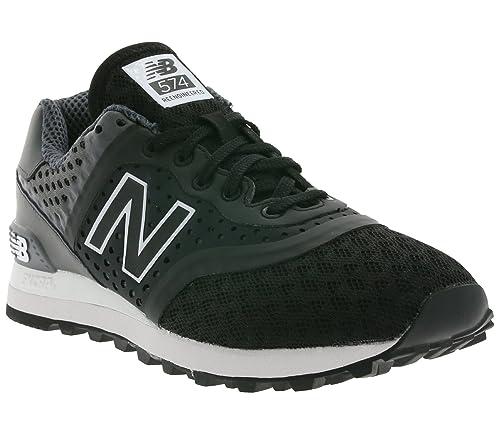 d0b2b4fd7c343 New Balance 574 Sneaker Black MTL574CG