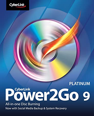 CyberLink Power2Go 9 Platinum