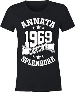 1ae2d27e7d925 6TN Le Donne realizzate nel 1969 50 Anni di Stupenda Maglietta del 50esimo  Compleanno