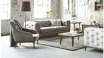 Oslo Sofa Couch Set Wohnzimmer 321 Amazonde Küche Haushalt