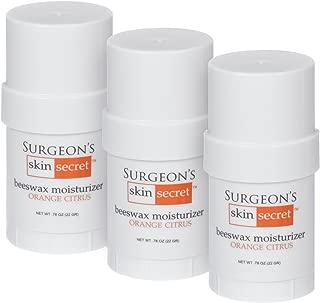 product image for Surgeon's Skin Secret .78 oz Twist-up Sticks 3-Pack (Orange Citrus)