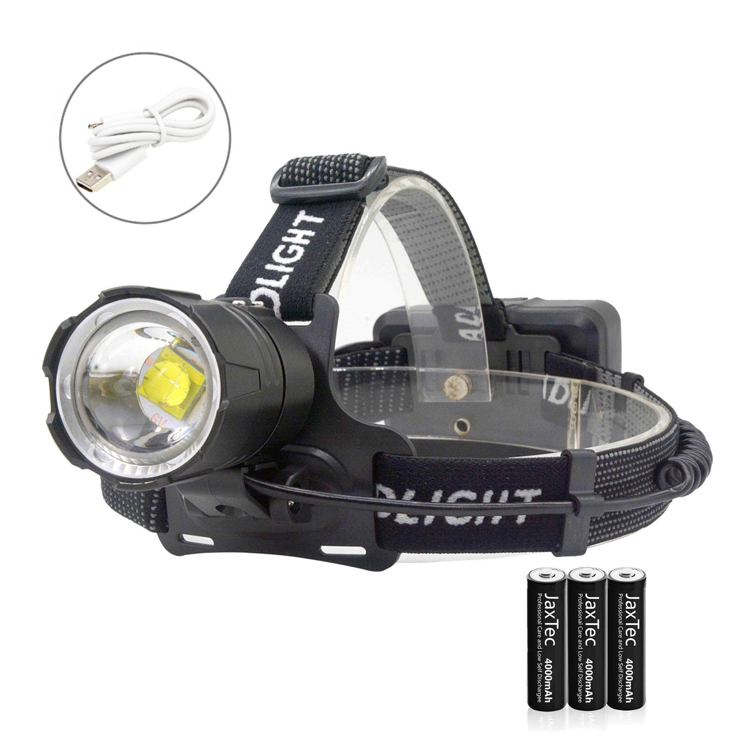 6000LM XM-L T6 LED 2 in 1 Bike Light Flashlight Head Torch Bicycle Lamp 7-Mode