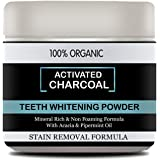 Mothers Man Activated Charcoal Powder For Natural Teeth Whitening - 50 g