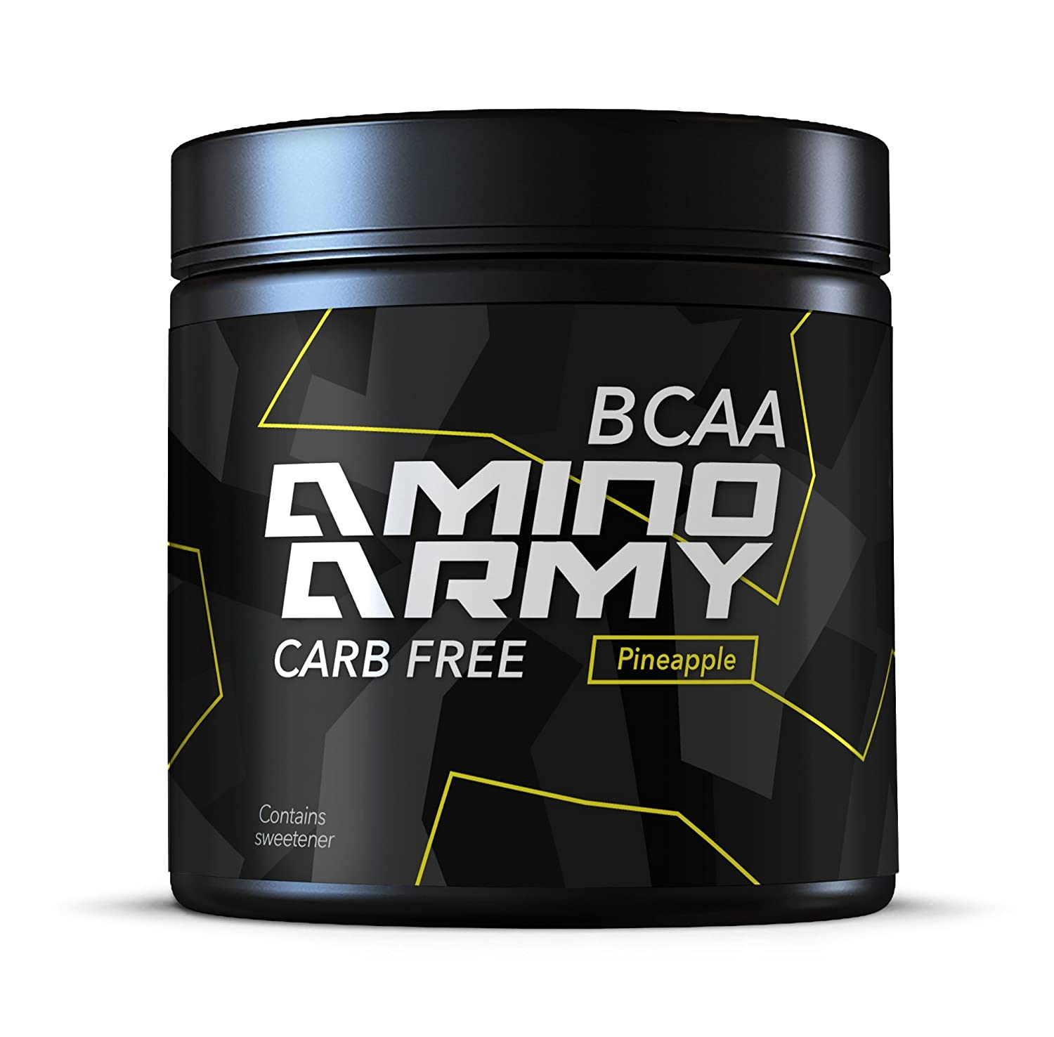 NutraFX Amino Hero- Bcaa Supplement- Pineapple- Eaa Amino acids and Energy, 30 Servings