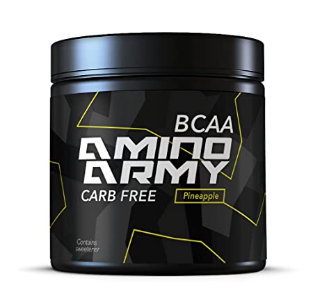 BCAA Powder 25 servings Pineapple 6000 mg BCAA 1000 mg Glutamine 3000 mg Alanin, Lysine, Glycine Total 10,000 mg amino acids per serving Great for Pre workout Recovery purposes