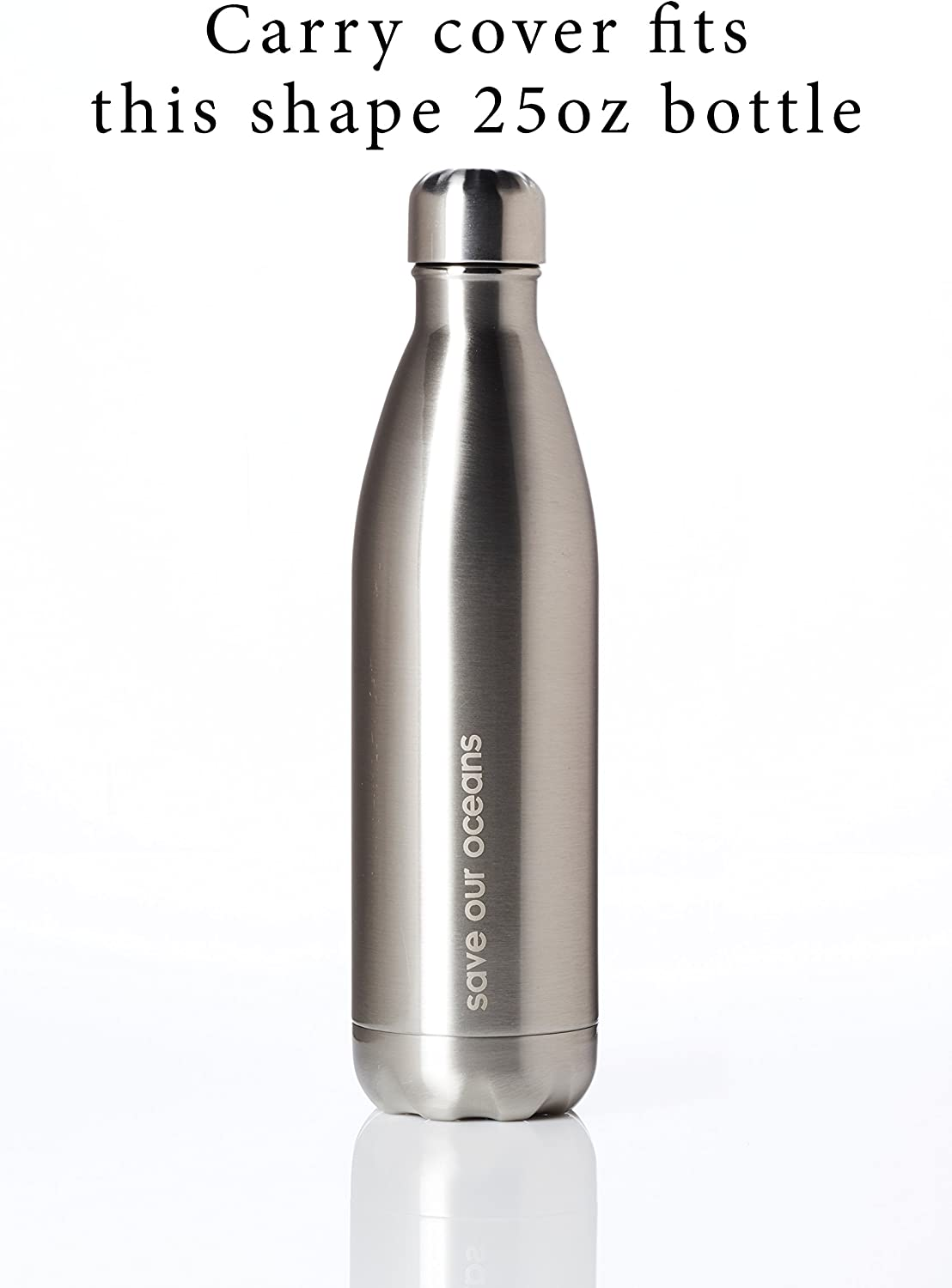 Bottle NOT Included Swell,and Other cola Style Steel Bottles BBBYO Neoprene Insulated Water Bottle Holder Bag Case Pouch Carry Cover Fits 17oz and 25oz