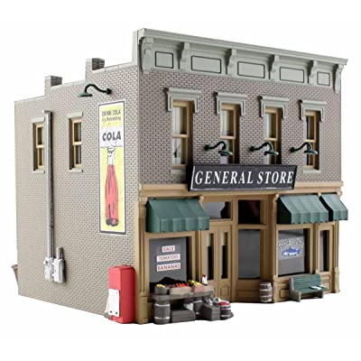 Woodland Scenics N Scale Built-&-Ready Structures Lubener's General Store: Toys & Games
