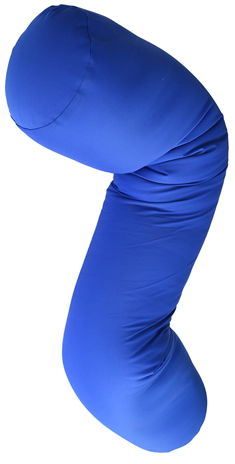 Microbead Body Pillow with Silky Smooth Removable Cover