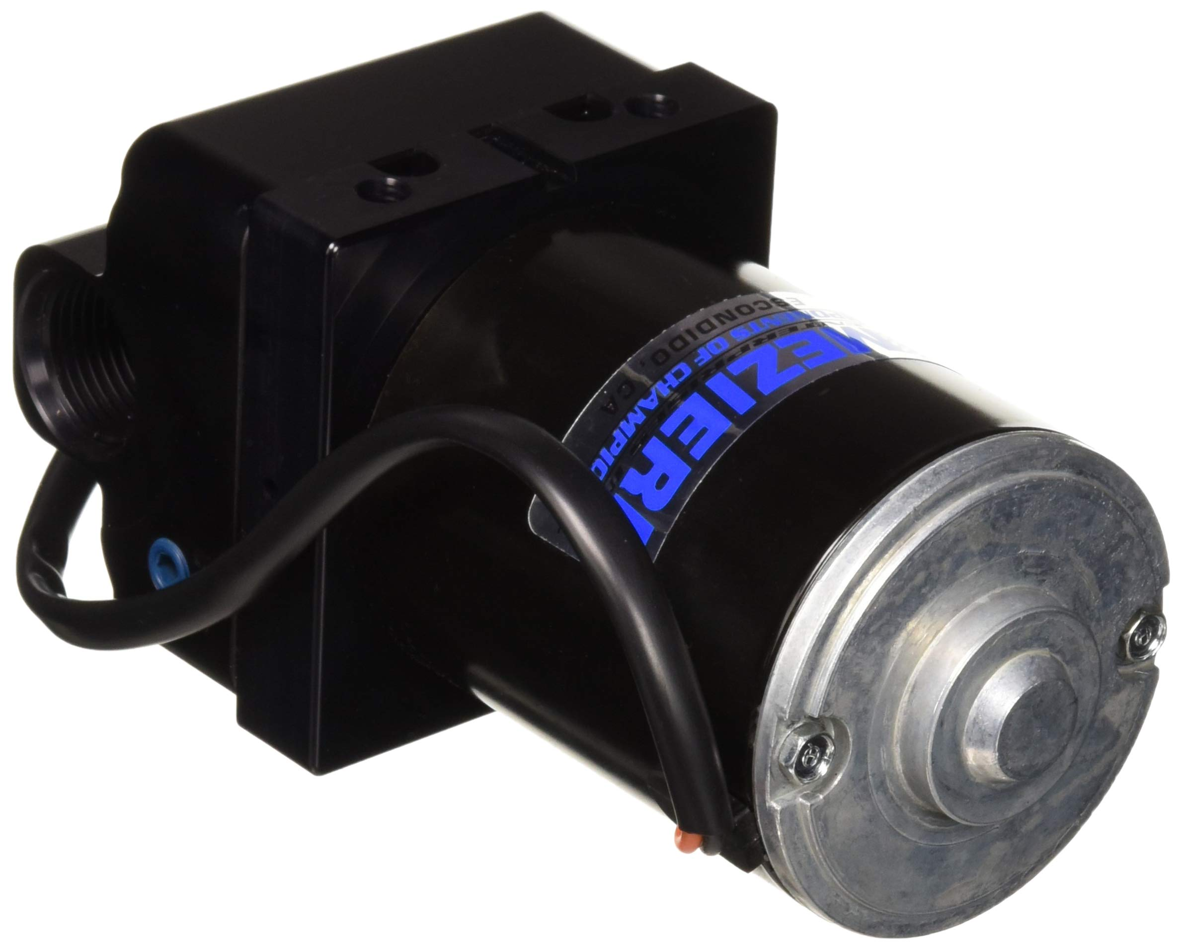 Meziere WP136S Black Inline Electric Water Pump by Meziere