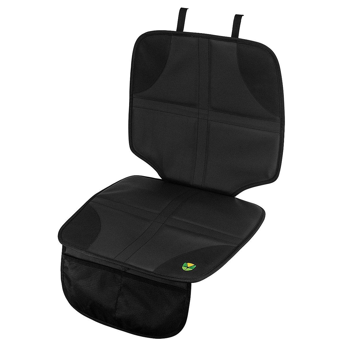 Autositzauflage Unterlage Kindersitz Spielzeugtasche Auto Sitzschoner Sitzschutz (Schwarz) MidGard 4251001625754