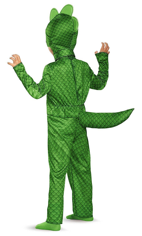DecoPac PJ Masks Disguise Gekko Classic Toddler PJ Masks Costume ...