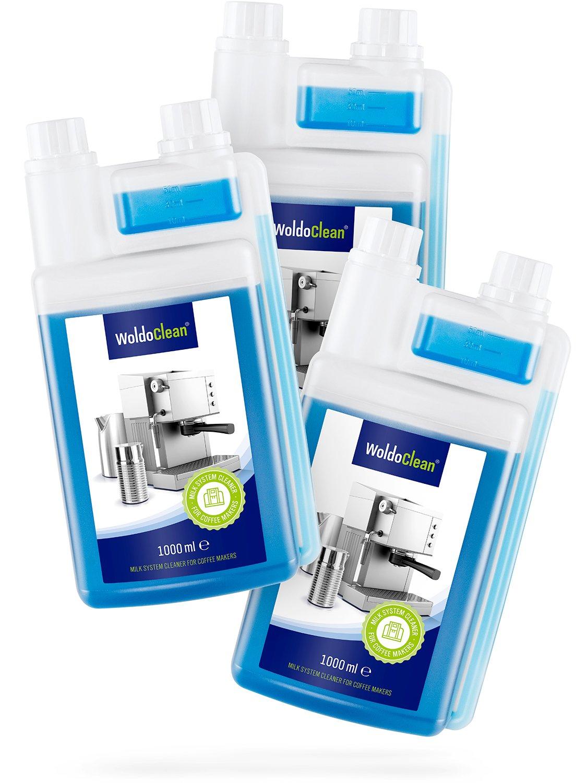 WoldoClean I Milchsystemreiniger 1 Liter I Milchreiniger I Reiniger für Kaffeevollautomat & Milchaufschäumer