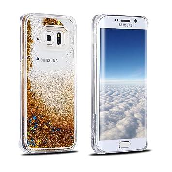 Funda Samsung S6, Carcasa Galaxy S6, RosyHeart Sparkle ...