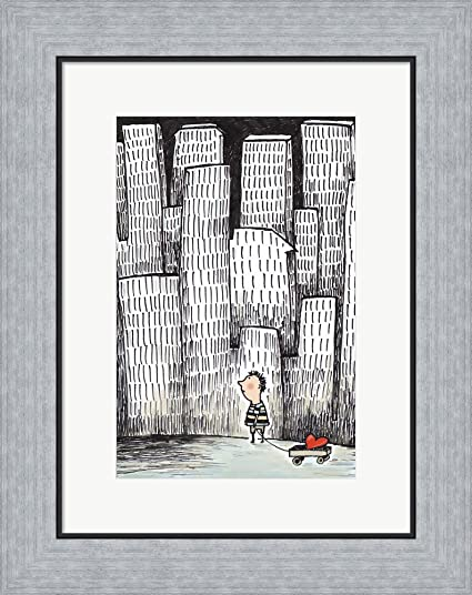 Amazon.com: I Carry Your Heart by Carla Martell Framed Art Print ...