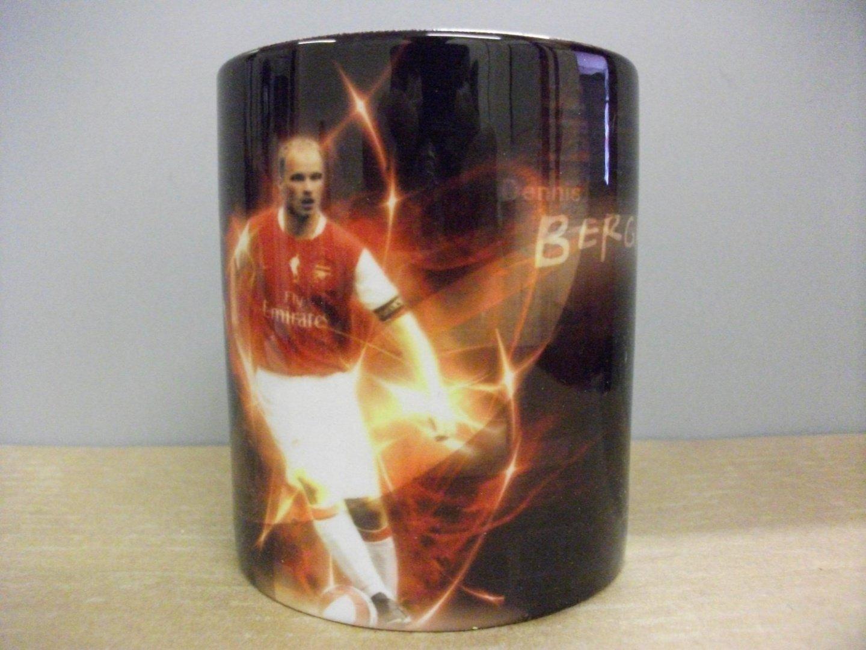 Filmcell Factory Ltd Dennis Bergkamp Arsenal MUG//CUP Sports Football Soccer Memorabilia
