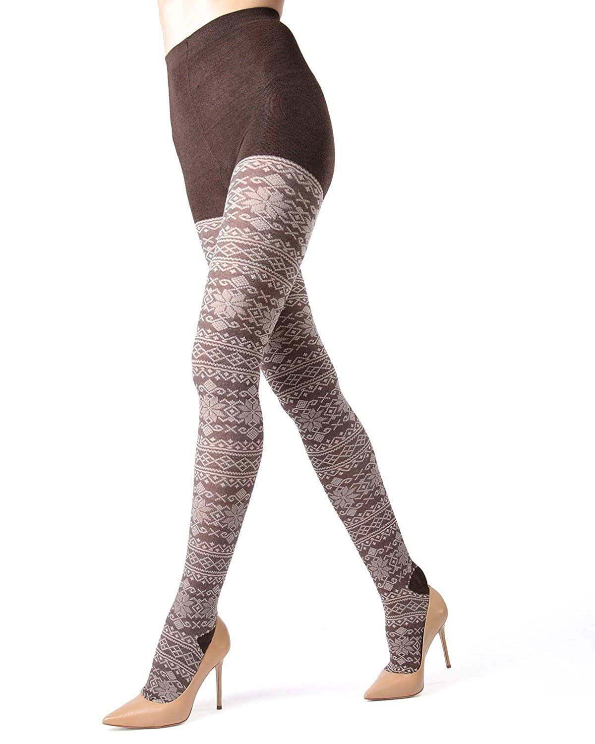 ff2d7b1277d ... Hosiery - Pantyhose - Nylons. Wholesale Price 15.60 OurMemoi Selbu  Sweater Tights are the perfect partnership between the traditional and the  trendy.
