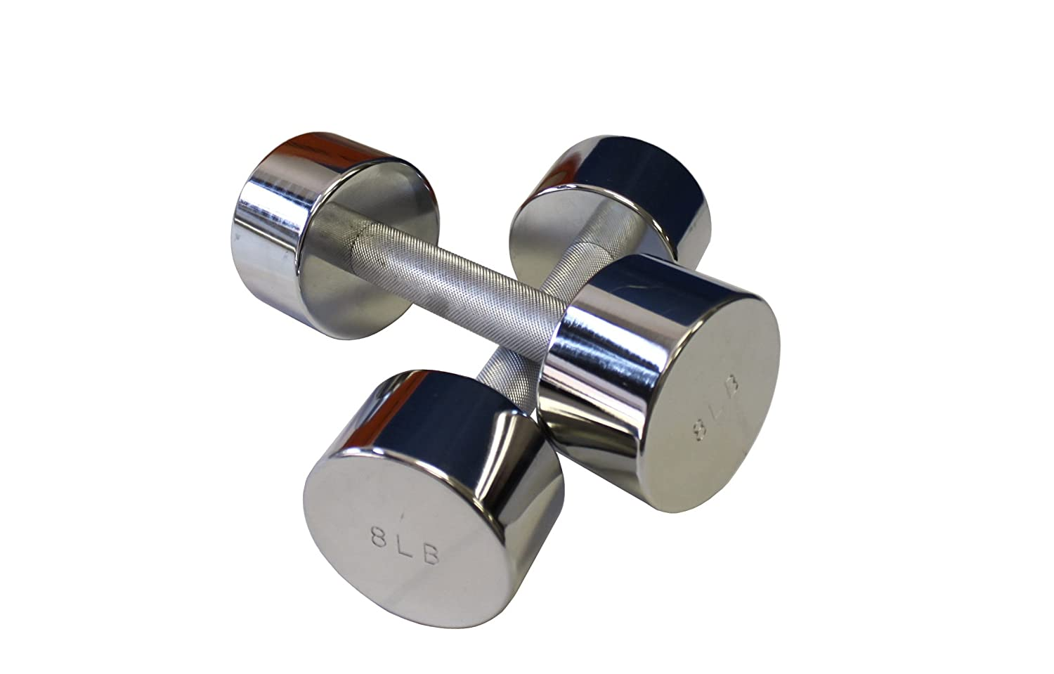 Ader Chrome Dumbbell, Sold as Pairs