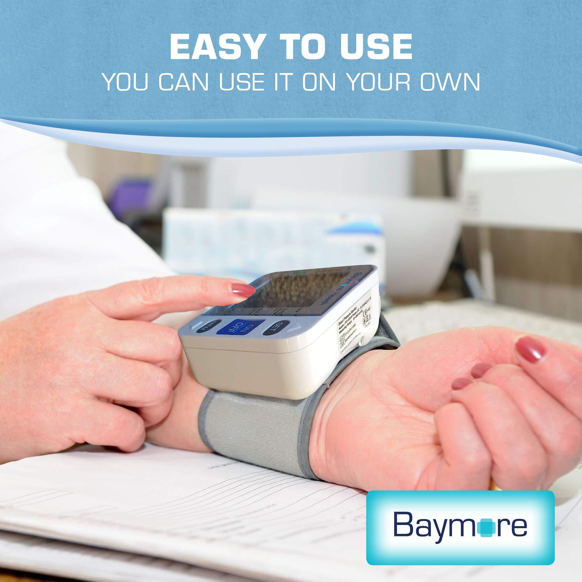 Baymore Digital Wrist Blood Pressure Monitor Cuff by Baymore (Image #2)