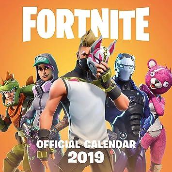 44669446e77 FORTNITE Official 2019 Calendar  Amazon.es  Epic Games  Libros en idiomas  extranjeros