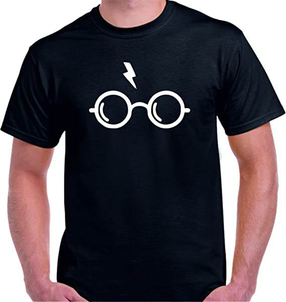 DrMugCollection Camiseta Harry Potter Cicatriz (S)