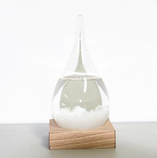 4 opinioni per WELLDONE® Regalo San Valentino Creativo elegante Desktop Droplet tempesta Glass