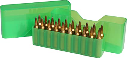 MTM 20 Round Slip-Top Magnum Rifle Ammo Box 300 Rem  ULTRA Mag  300  Weatherby Mag