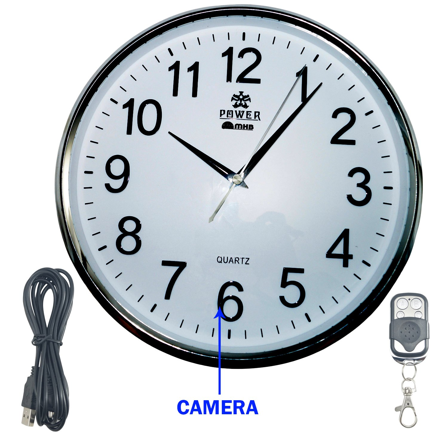 Wall clock security camera images home wall decoration ideas buy m mhb full hd 19201080 quality wall clock hidden spy camera buy m mhb full amipublicfo Images