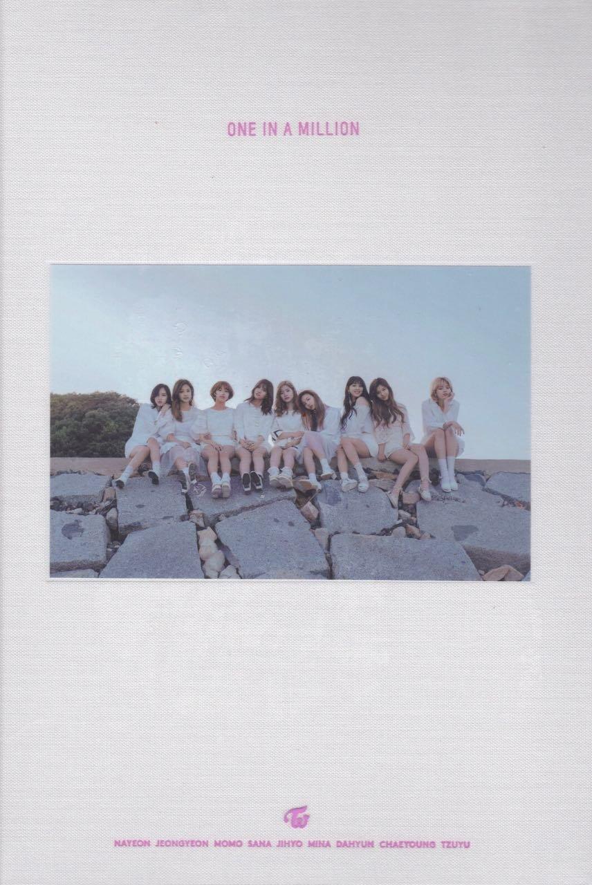 Twice 1st Photobook One In A Million Amazon Com Music