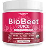 Beet Juice Powder | 20x More Potent Than Beet Powder, Best Value – Organic, Cold-Pressed, Raw Form, USA Grown | Natural…