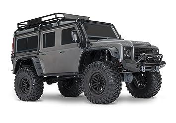 Traxxas Trx 4 Land Rover Defender 110 Grey 82056 4gr Amazon Co