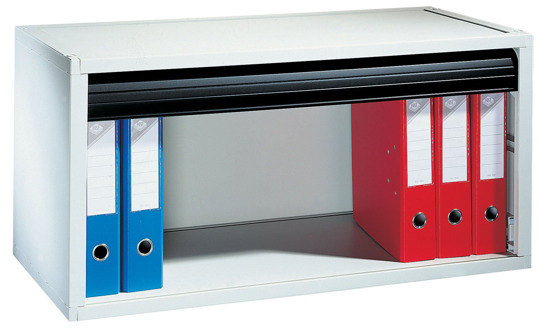 PaperFlow Multibloc Storage Module, 66 Pound Capacity, 17.2x35.13x15.75 Inches, Black (4901.01)