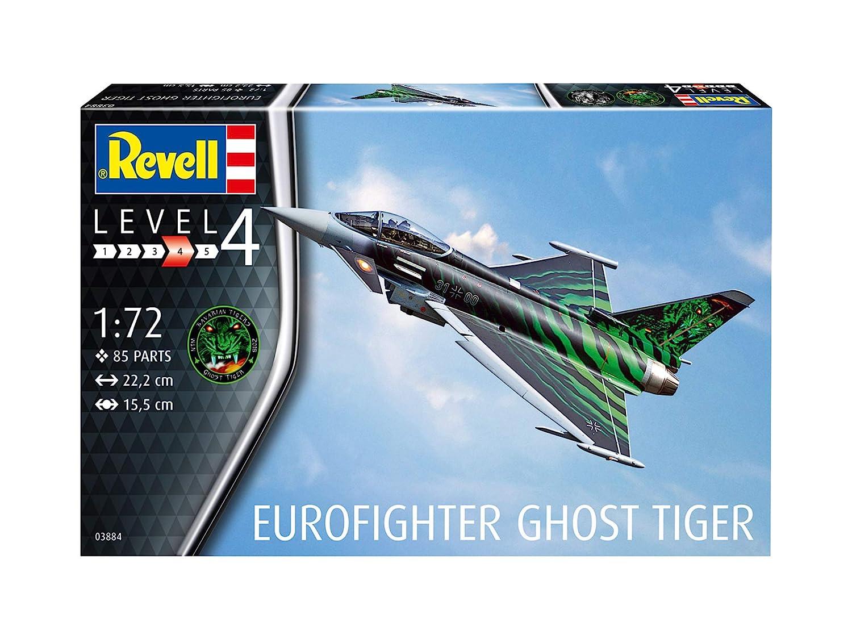 Escala 1:72 Kit de Modelos de pl/ástico 03884 3884 1//72 Revell- Eurofighter Ghost Tiger