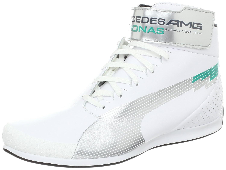 best sneakers cfbc3 994c9 uk puma ferrari shoes online shopping e4919 46488  where can i buy puma  mens evospeed mid mamgp nm fashion sneaker white silver arcadia 6