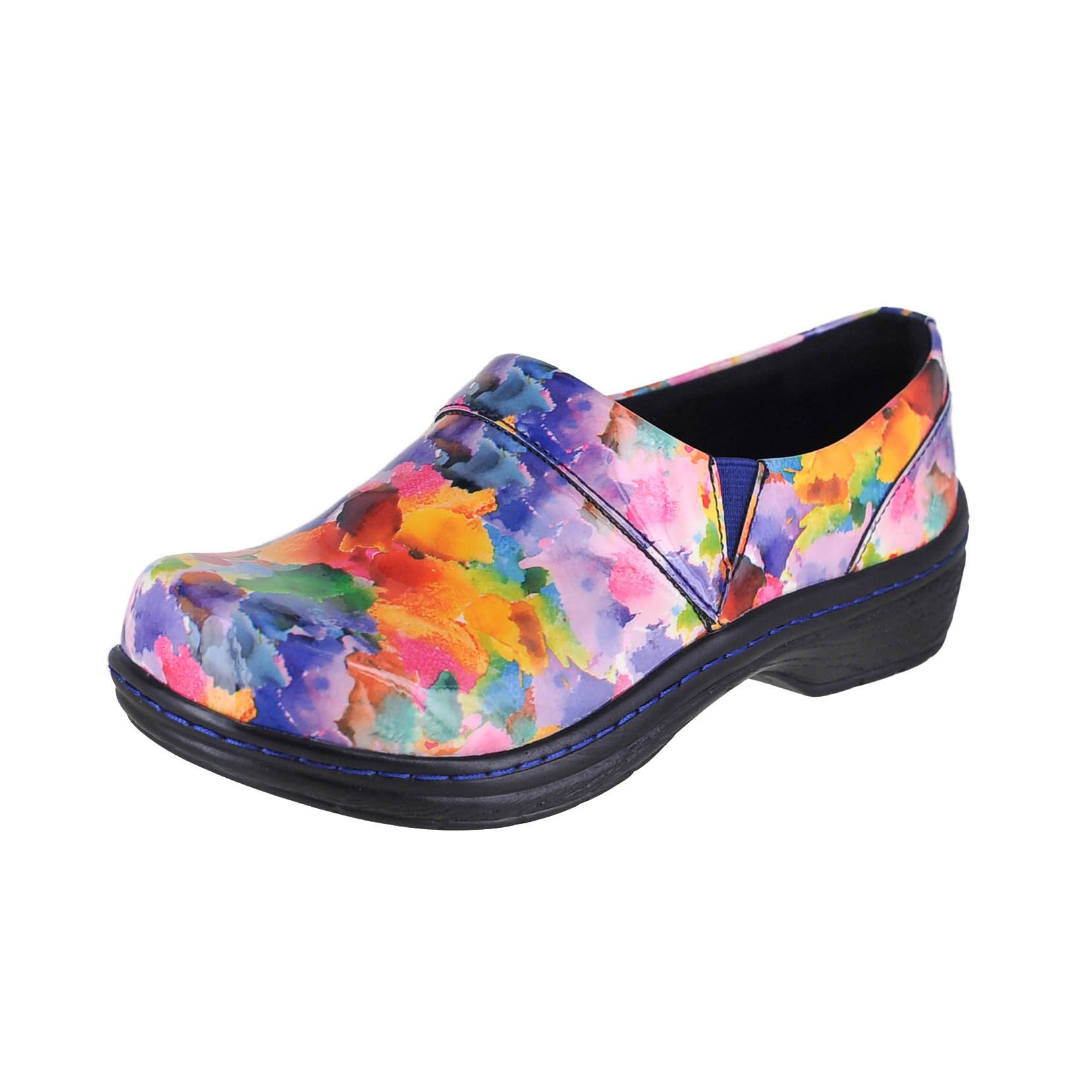 Klogs USA Mission Watercolor Patent Womens Clog Style Size 11M