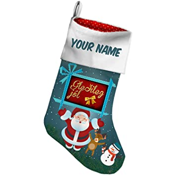 christmas stocking merry christmas in icelandic from iceland xmas night neonblond - Merry Christmas In Icelandic