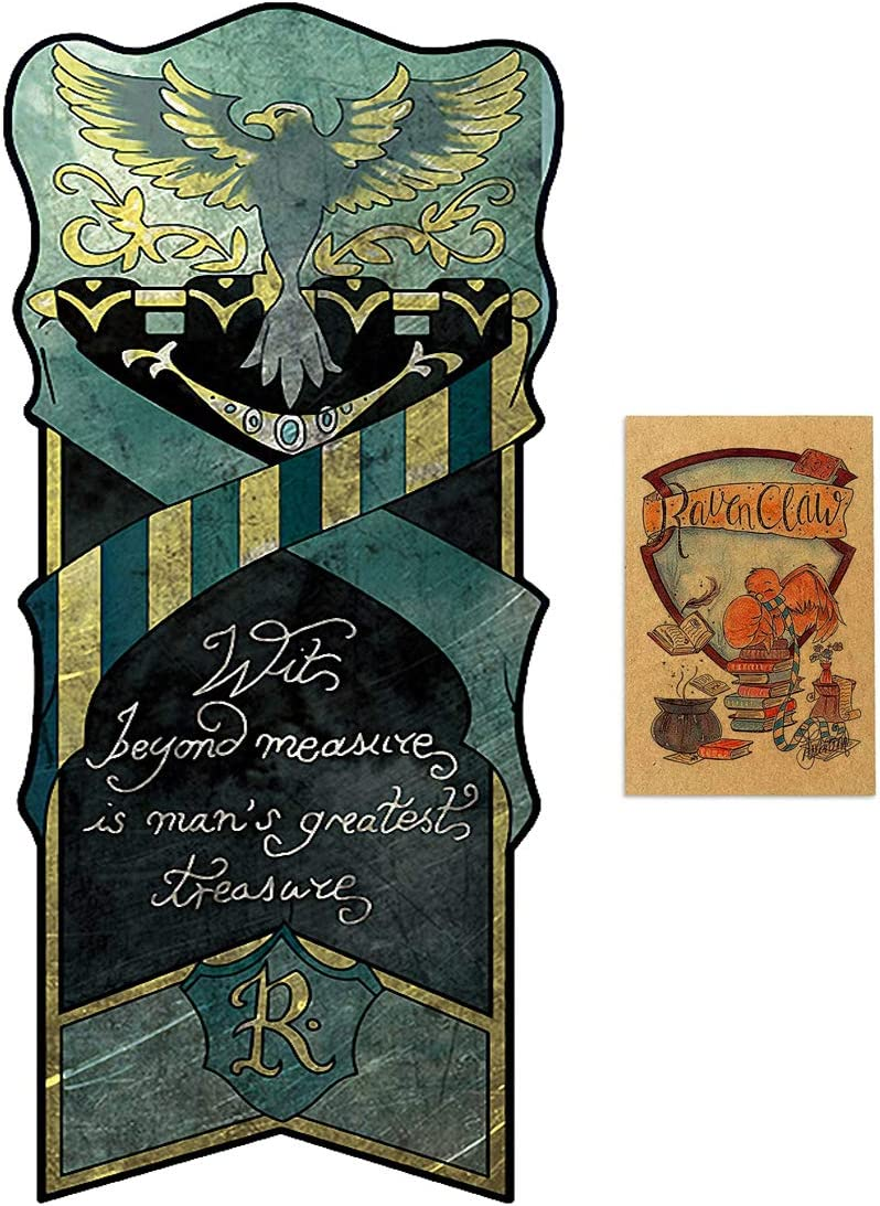 46X120CM hufflepuff birthday decor for harry flag potter Wall Banner Casa Slytherin bandera de decoraci/ón gryffindor ravenclaw