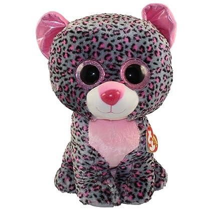 Amazon.com  Ty Beanie Boos Tasha - Leopard Large  Toys   Games 28b7e71224fa