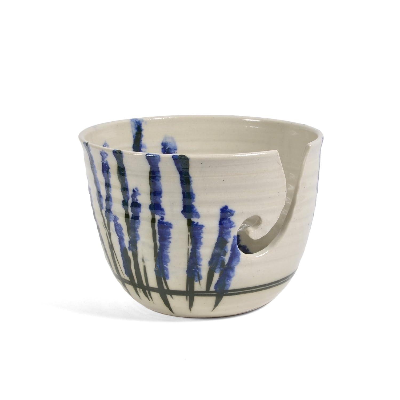 Holman Pottery Wildflower Yarn Bowl YARN-WF