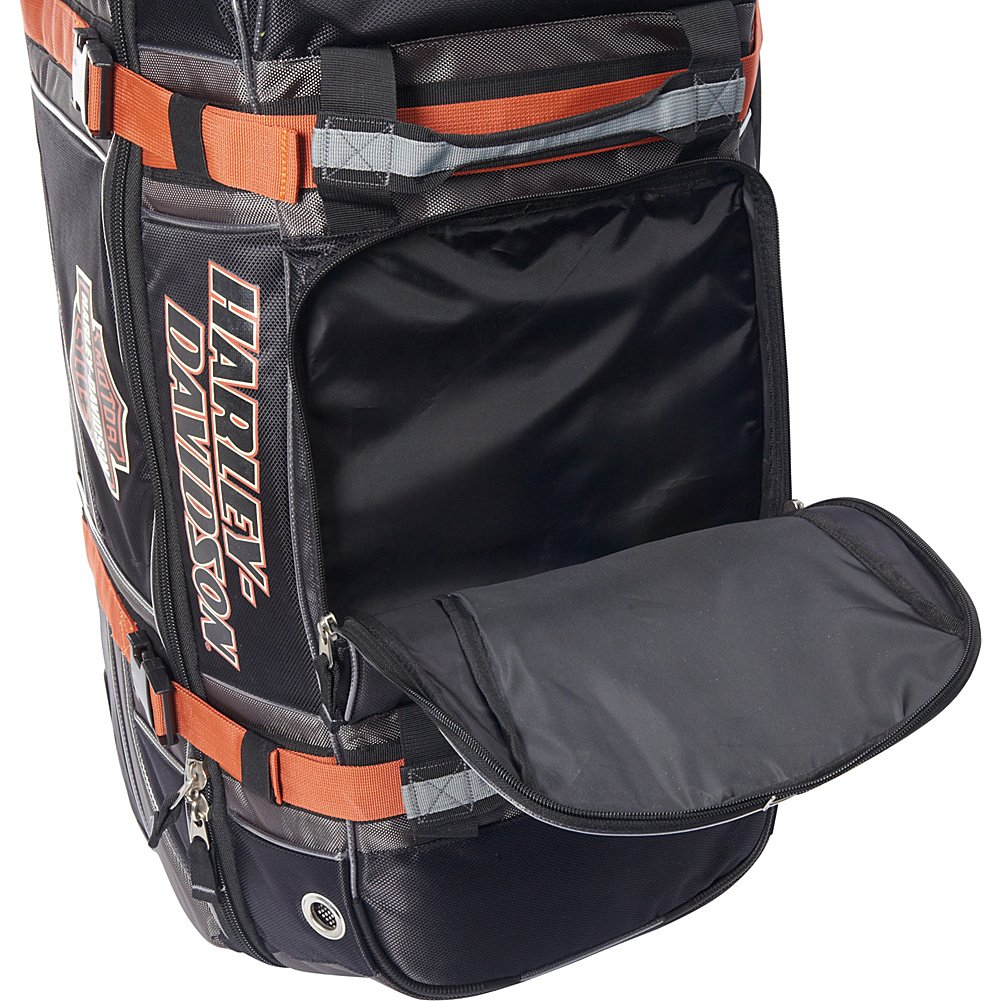 Harley Davidson 33'' Wheeled Equipment Duffel, Black by Harley-Davidson (Image #6)